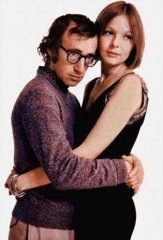 """Woody Allen y Diane Keaton en """"Sueños de..."""