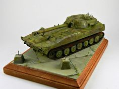2S1 Gvozdika 122-mm Self-Propelled Howitzer (Russia)