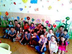 ყვავილები საკლასო ოთახში <3