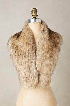 Ingara Faux-Fur Stole - anthropologie.com