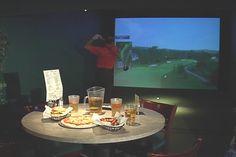 Eat. Drink. Play. CrossWoods Indoor Golf  #indoorgolf