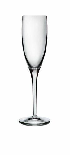 Luigi Bormioli Set of 4 Michelangelo Masterpiece 6.75-Oz. Champagne Flute Glasses by Luigi Bormioli. $25.39. Dishwasher-safe; made in Italy. Crystalline Glass. Blown from pure lead-free crystal for exceptional clarity. Innovative glassmaking techniques produce perfectly smooth rims and edges. Luigi Bormioli Michelangelo Masterpiece 6-3/4-ounce Flute, Set of 4. Set of four flutes that were designed for everyday use, but are also perfect for entertaining.  Michelangelo Masterpie...