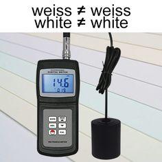 Das Weißgrad-Messgerät / Opazimeter TMT-WM-106 misst den Grad an Helligkeit durch die Bestimmung der Opazität nach ISO 2471 von Materialien wie z.B. Papier, Zellstoff, Stoff, Kunststoff, Porzellan und anderen nicht metallischen Produkten. Grad, Paper, Ultrasound