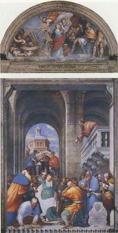 Piacenza Madonna di Campagna. Storie di Santa Caterina. 1530-32