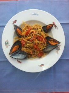 Spaghetti Cozze e Pecorino | La gola e il cucchiaio di Marco Rossetti