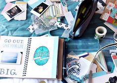 mini SMASH book to scrapbook holiday adventures on the go | Smash-ing Idea Success | live laugh rowe