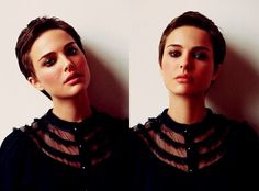 Natalie Portman. Great pixie- it helps if you have her face. heck yeah pixie cuts
