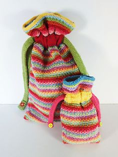 Ravelry: Handy Bag pattern by Frankie Brown Knitting Patterns Free, Free Knitting, Stitch Patterns, Quick Knits, Knitted Bags, Double Knitting, Slip Stitch, Knitting Yarn, Knitting Projects