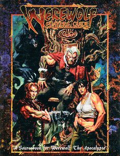 WEREWOLF PLAYERS GUIDE (Revised): The 219-page sourcebook of the Garou, their 13 Tribes, and the other werecreatures of the world.