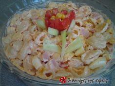Σαλάτα με ζυμαρικά της Μάνιας
