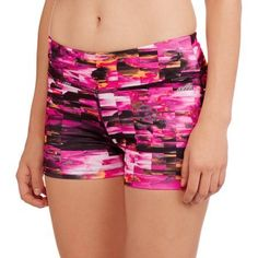 Avia Women's Active 3 inch Captivate Bike Shorts, Size: XS, Multicolor
