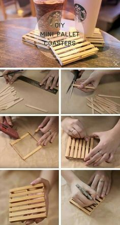Cute diy crafts to sell easy and cheap crafts to make and sell Craft Stick Crafts, Fun Crafts, Diy And Crafts, Crafts To Make And Sell Easy, Sell Diy, Decor Crafts, Diy Crafts To Sell Cheap Easy, Wood Sticks Crafts, Craft Fair Ideas To Sell
