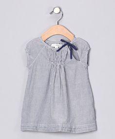 Take a look at this Ming Stripe Dress - Infant & Toddler by Pearls & Popcorn on #zulily today!