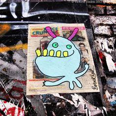 London Graffiti... Bortusk Leer..... Smile!