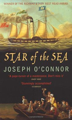 Star of the sea - Joseph O'Connor Sinead O'Connor's older brother !