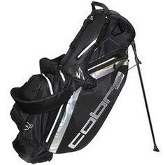 Cobra Fly-Z Dry Tech Stand Golf Bag Black
