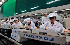 Foxconn pretende reduzir dependência da Apple