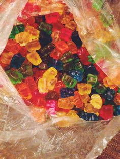 I am the biggest gummy bear fan, nothing stopped me from eating these. Not even when I had braces❤️