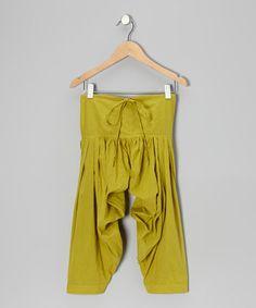 Green Harem Pants - Toddler & Girls by textures | £8.99