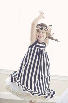 stripes & frills x