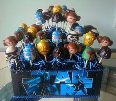 Starwars cake pops  http://www.etsy.com/shop/TheMaDCakePopShop