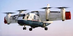 XC-142. This Absurd Tilt-Wing Whirly Bird Actually Flew
