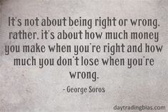 George Soros on Trading. More memorable quotes available at www.daytradingbia… Source by daytradingbias George Soros Quotes, Trade Finance, Finance Business, Trading Quotes, Financial Instrument, Investing In Stocks, Cryptocurrency Trading, Day Trading, Trading Cards