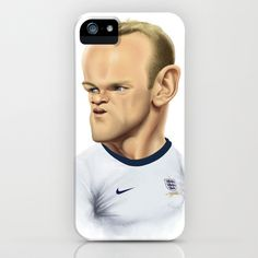 #Rooney - England iPhone & iPod Case by Sant Toscanni - $35.00