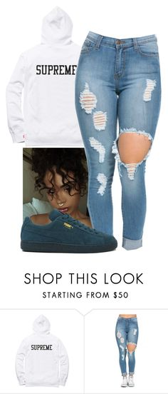 """Bad Boy~ Toni Romiti"" by melaninaire ❤ liked on Polyvore featuring Puma"