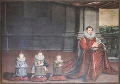 Dipinto Rappresentante il terzo marchese di Castiglione delle Stiviere Francesco Gonzaga (1577-1616)