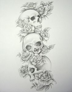 skull sleeve tattoo - Buscar con Google
