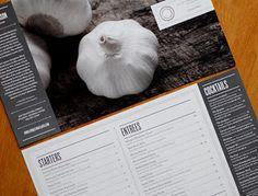 Green Olive Media: Menu Design - Livingston Restaurant & Bar
