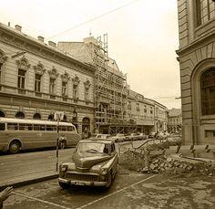 Eger, Bajcsy-Zsilinszky utca Hungary Travel, Long Time Ago, Street View, Spas, Retro, City, Castles, Castle, City Drawing