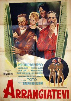 Arrangiatevi  1959di Mauro Bologninicon Peppino De Filippo, Laura Adani e Totò.