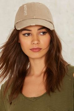 Robyn Distressed Baseball Cap | Shop Accessories at Nasty Gal!