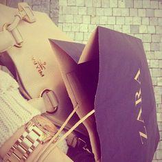 Zara and Prada