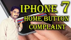 IPhone 7 Came to a Home Button Complaint | This Button Useless with glov...