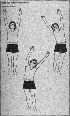 Vintage exercise diagram