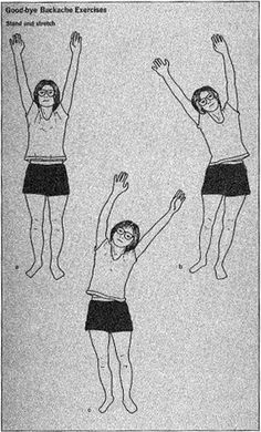 Vintage exercise diagram