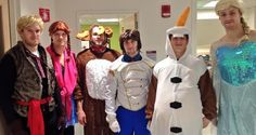 Bruins Players in 'Frozen' Costumes Lift Spirits with Visit to Children's Hospital  Boston Strong http://bdcwire.com/bruins-players-in-frozen-costumes-lift-spirits-with-visit-to-childrens-hospital/