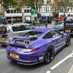 Porsche 991 GT3 RS painted in Ultraviolet Purple Photo taken by: @tfjj on Instagram