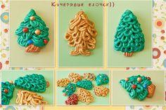 Curly Christmas trees - Fair Masters - handmade, handmade