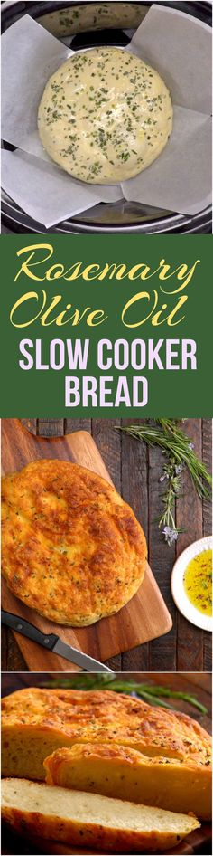 Yes, you can make REALLY good bread in your Crock-Pot. There's no need to knead with this easy recipe that produces a fresh, warm loaf speckled with rosemary.