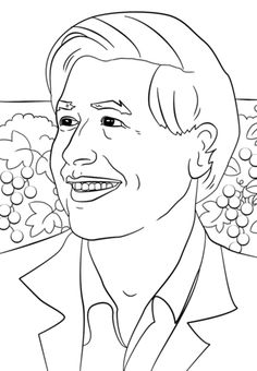 cesar chavez coloring page from famous people category