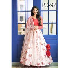 e4ab5f039aff4 Buy White Color Banglori Satin SemiStitched Lehenga Choli