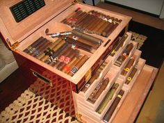 Some day I will need a humidor this big.