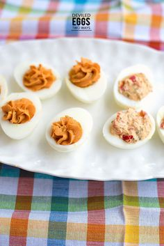 Deviled Eggs, Two Ways
