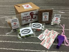 Zombie Survival Kit Goodie Bag for kids party-i purchased ...