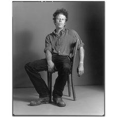 Mary Ellen Mark - Tom Waits on the set of Short Cuts, Los Angeles, California, 1993
