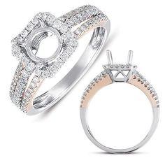 14k .52 Dwt Diamond White Gold Engagement Ring, Women's, Size: 7